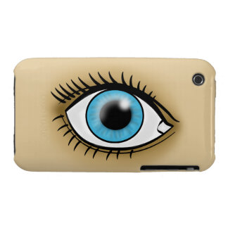 Blue Eyes icon iPhone 3 Case-Mate Case