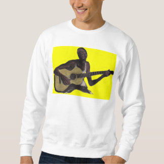 blue man singing the blues pullover sweatshirt