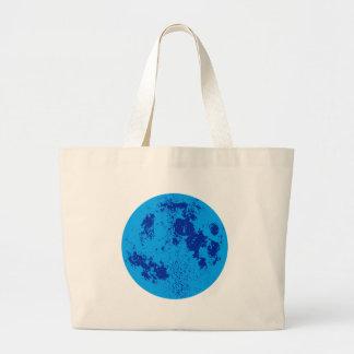 Blue Moon Jumbo Tote Bag