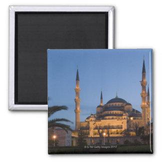 Blue Mosque, Sultanhamet Area, Istanbul, Turkey Square Magnet
