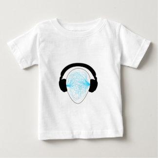 Blue Music waves Tee Shirt