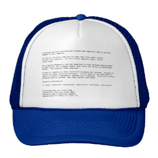 Blue Screen of Death Cap