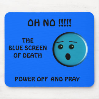 Blue Screen of Death - - Customized - Customized Mouse Pad