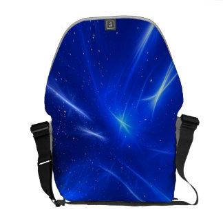Blue Shooting Stars Commuter Bag