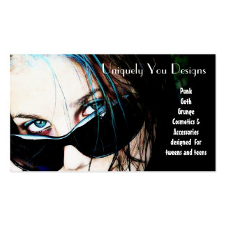 Blue Streaks and Sunglasses Pack Of Standard Business Cards