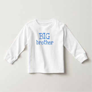 Blue Text Big Brother Tees