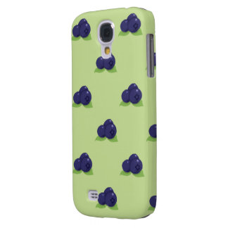 blueberry pattern samsung galaxy S4 Galaxy S4 Covers