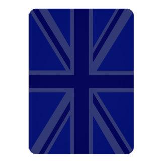 Blues for a Union Jack British Flag 11 Cm X 16 Cm Invitation Card
