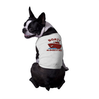 Boaty McBoatface Sleeveless Dog Shirt