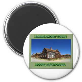 Bodie Ghost Town 6 Cm Round Magnet