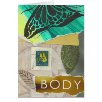 Body by Nature Greeting Card