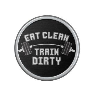 Bodybuilding - Eat Clean Train Dirty Bluetooth Speaker