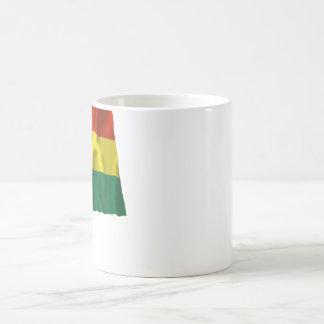 Bolivia Waving Flag Basic White Mug