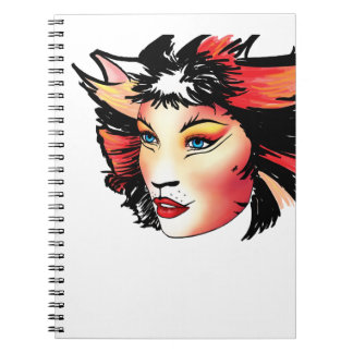 Bombalurina - Cats Musical Spiral Note Books
