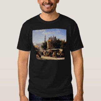 Bookstall on the Noordermarket by Cornelis Springe T-shirts