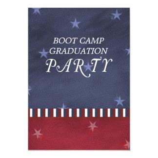 Boot Camp Graduation Party Invitation