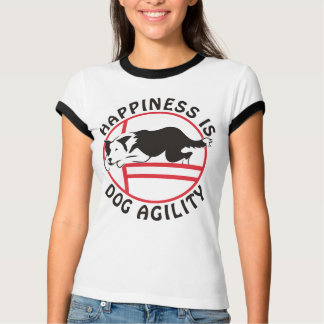 Border Collie Agility Happiness T-shirts