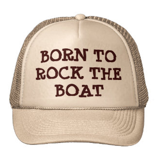 Born To Rock the Boat Cap