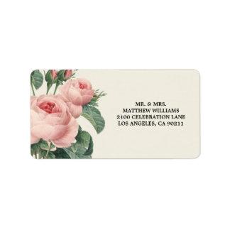 Botanical Glamour | Address Label