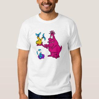Botanist Alien T-shirts