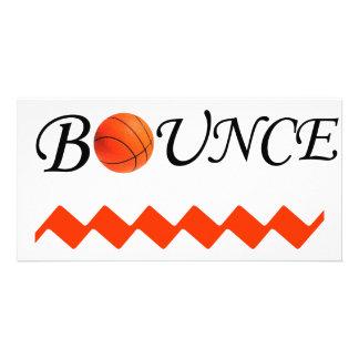 Bounce Photo Card Template