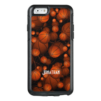 Bouncing Basketballs OtterBox iPhone 6/6s Case