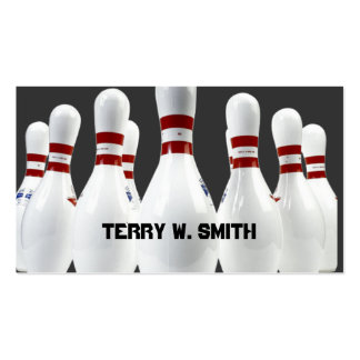 Bowling Pins Business Card