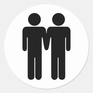Boy + Boy Sticker
