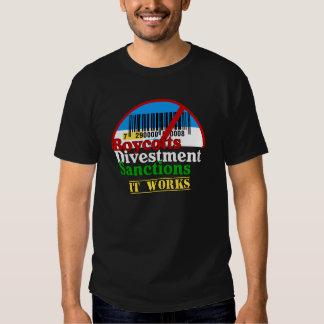 Boycotts Divestment Sanctions Israeli Products T-shirts
