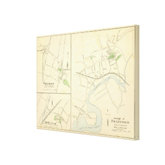 Branford, Cheshire, N Haven Stretched Canvas Prints
