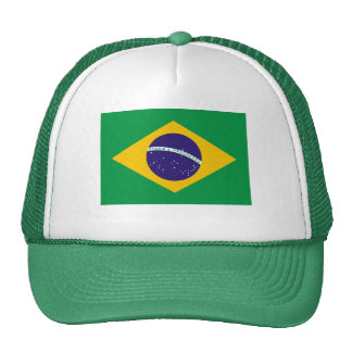 Brazil National Flag Cap