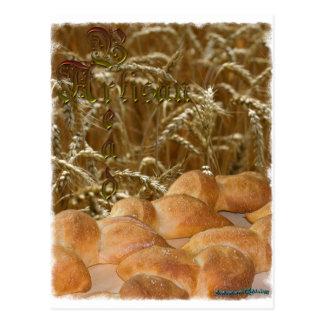 Bread Artisan Postcard