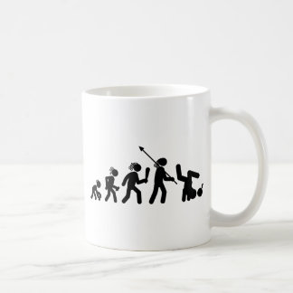Break Dance Basic White Mug