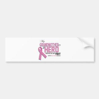 Breast Cancer Awareness: grandmother Bumper Sticker