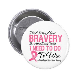 Breast Cancer Battle 6 Cm Round Badge