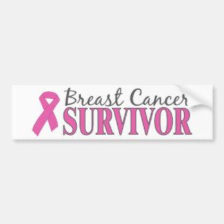 Breast Cancer Survivor Bumper Sticker