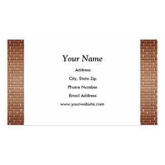 Brick Walls Business Cards