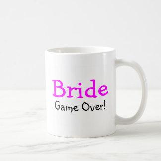 Bride Game Over Basic White Mug