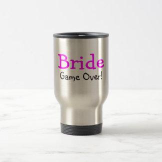 Bride Game Over Stainless Steel Travel Mug