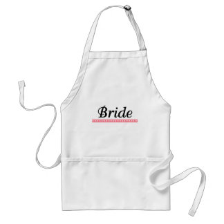 Bride Gifts and Favors Standard Apron
