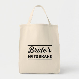 Bride's Entourage Grocery Tote Bag