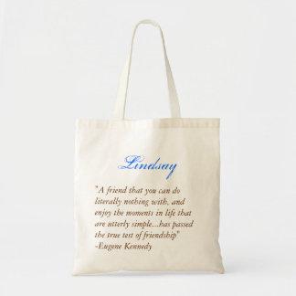 Bridesmaids tote - Quote 1 Budget Tote Bag