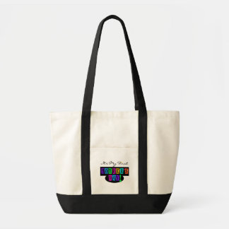 Bright Colors First Mother's Day T-shirts and Gift Impulse Tote Bag