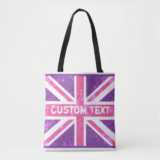 British Flag, Vintage Phone Book | Customized Tote Bag