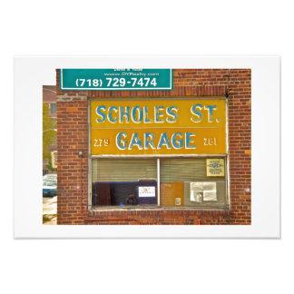 Brooklyn Garage Photograph