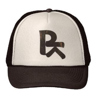BROOTLYN Vintage Logo in Distressed Black Cap