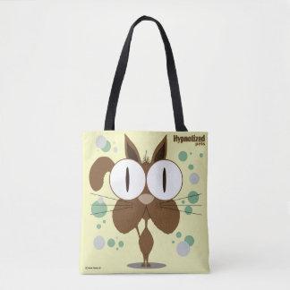 Brown Cat Custom All-Over-Print Tote Bag