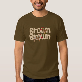 Brown Chicken Brown Cow T Shirts