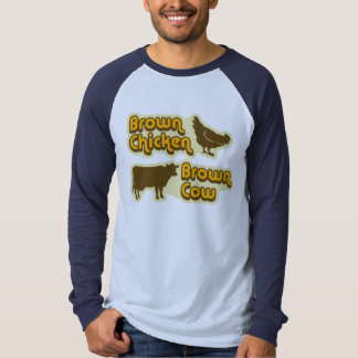 Brown Chicken Brown Cow Tees