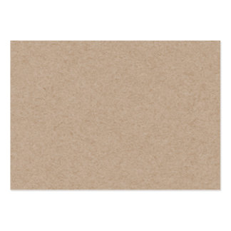 Brown Kraft Paper Background Printed Pack Of Chubby Business Cards